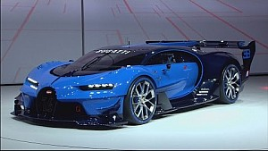 2016 Bugatti Vision Gran Turismo World Debut at Frankfurt IAA