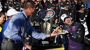 Recap: Hamlin busts Chase Grids with win