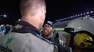 Brian Scott and Bubba Wallace fight at Kentucky