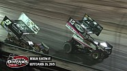 Highlights: World of Outlaws Sprint Cars Berlin Raceway September 26th, 2015