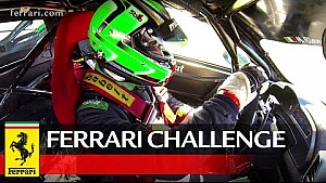 Ferrari Challenge Europe - Max Blancardi introduces the Valencia track