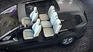 Ford Galaxy Easyfold seat system