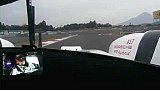 Onboard Porsche #17 during qualifying in Fuji