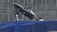 Lucas Di Grassi crashes at Hockenheim F3 in 2005