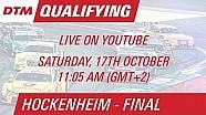 DTM Hockenheim (Finale) - Qualifying 1 - Live