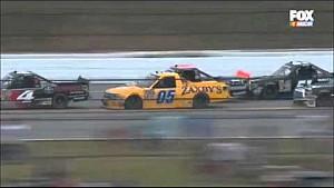 Big wreck in finals laps at Talladega