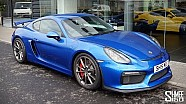 COLLECTING MY PORSCHE CAYMAN GT4 - Surprise New Shmeemobile!