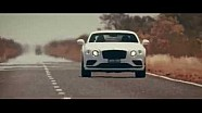Bentley Continental GT Speed - Vol gas in de Outback