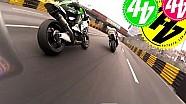 Caméra embarquée à moto au GP de Macao