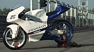 Le nouvelle Peugeot Moto3 en essais