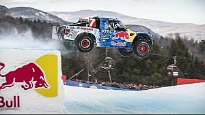 900hp Pro4 Truck Madness in the Snow | Red Bull Frozen Rush 2016