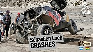 Loeb accidente en la Etapa 8  - Dakar 2016