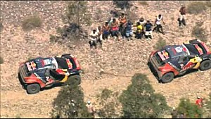 Dakar 2016 - Stage 11 - Cars and Bikes