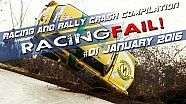 Racing and Rally Crash Compilation Week 01 January 2016