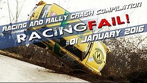 Racing and Rally Crash Compilation Week 01 January 2016