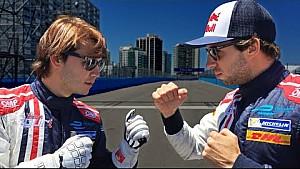 GOLF KART RACE! Raúl Santana vs Antonio Felix Da Costa!