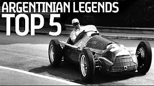 5 Argentinian Racing Legends