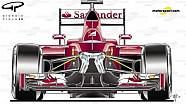 Ferrari SF16-H | La sospensione anteriore
