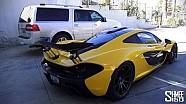 McLaren P1 VERSUS Lincoln Navigator