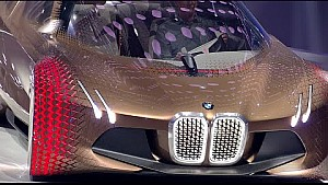 Self-driving BMW Vision Next 100