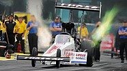 Crampton, Beckman, Line and Krawiec No. 1 qualifiers in Gainesville #NHRA