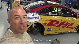 WTCC 2016 diary; shakedown, test and livery timelapse, Tom Coronel, Roal Motorsport