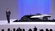 La Faraday Future alla fiera CES 2016