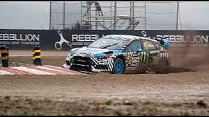 Ken Block and Andreas Bakkerud Behind The Scenes With Ford Focus RS RX