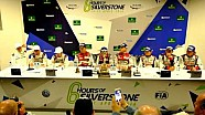 WEC 6 hours of Silverstone - LMP1 press conference