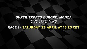 Lamborghini Super Trofeo Europe 2016, Monza - Live streaming Race 1