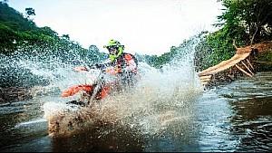 Hard Enduro Racing in Super Slow Motion | Red Bull Minas Riders