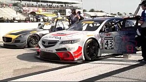 HPD Trackside - Pirelli World Challenge TLX-GT St Petersburg Race 2