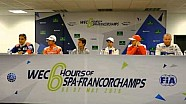 2016 WEC 6 Hours of Spa-Francorchamps - Pre-event press conference