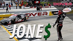 RECAP: Staying out pays off for Jones, to the tune of $100,000