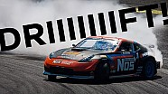 Awesome Drifting Onboard! Chris Forsberg and Geoff Stoneback drift 2000HP of 370Z at Road Atlanta