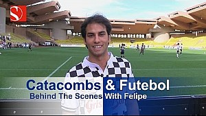 Catacombs & Futebol - 2016 Monaco Grand Prix - Sauber F1 Team