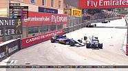 GP de Monaco - Les deux Sauber s'accrochent