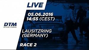 LIVE: Race 2 - DTM Lausitzring 2016