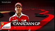 2016 Kanada GP önces: Sebastian Vettel