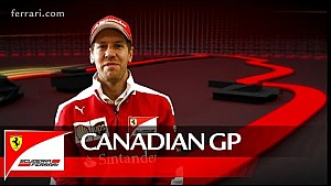 The Canadian GP with Sebastian Vettel - Scuderia Ferrai 2016