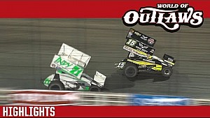 World of Outlaws Craftsman Sprint Cars Knoxville Raceway June 11th, 2016 | HIGHLIGHTS