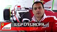 El GP de Europa con Richard Adams Scuderia Ferrari 2016