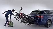 Toyota Genuine Accessories - How to Install a Foldable Bike Carrier.