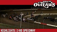 World of Outlaws Craftsman Sprint Cars I-80 Speedway June 22nd, 2016 | HIGHLIGHTS