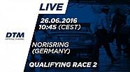 Canlı Yayın: Sıralama turları - 2. Yarış - DTM Norisring 2016