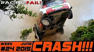Racing and Rally Crash Compilation Week 24 June 2015
