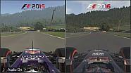 Karşılaştırma : F1 2016 vs F1 2015