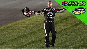 Kyle Busch gets spun at Kentucky