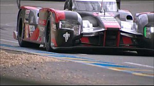 Super Slo Mo images of LMP cars at 24 Hours of Le Mans