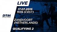 LIVE: Qualifying (Race 2) - DTM Zandvoort 2016